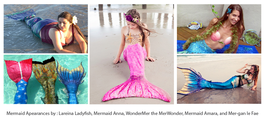 mermaid collage